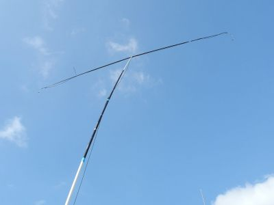 horizontaler triple-Bazooka Dipole