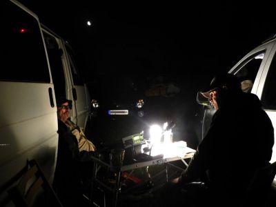 Nachtbetrieb mit Schichtwechsel