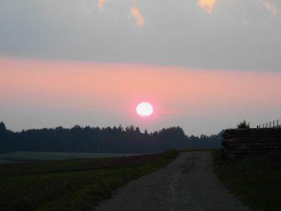 Sonnenaufgang :-)